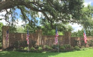 Entrance Flags
